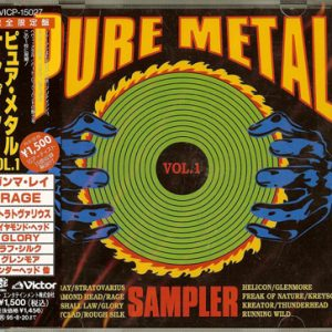 1993 – Pure Metal Sampler Vol.1 – Japan – Cd.