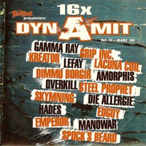 1999 – Rock Hard – Dynamit Vol 15 – Cd.