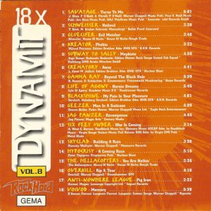 1997 – Rock Hard – Dynamit Vol. 8 – Cd.