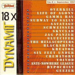 1997 – Rock Hard – Dynamit Vol. 8 – Cd.