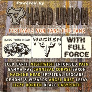 2000 – Rock Hard – Hard Union – Cd.