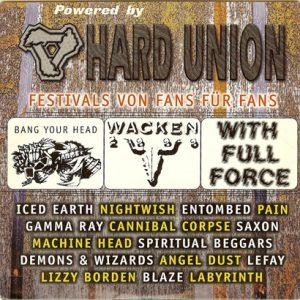 2000 – Rock Hard – Hard Union – Cd.