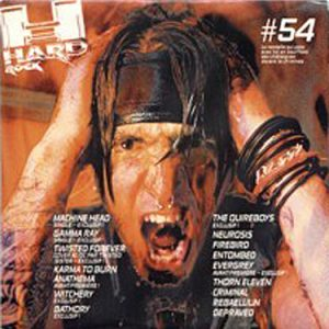 WANTED: 2001 – Rock Hard Sampler Nr 54 – Cd.