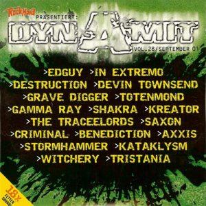 2001 – Dynamit – Rock Hard Vol 28 – Cd.