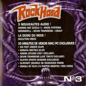 2001 – Rock Hard – Cd – Sampler Nr 3.