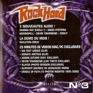 2001 – Rock Hard – Cd – Sampler Nr 3.