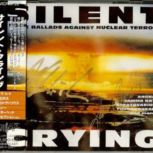 1995 – Silent Crying – Rock Ballads Against Nuclear Terror – Japan Cd.