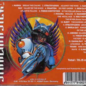 1997 – Stahlmaster Vol. 3 – Cd.
