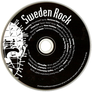 2005 – Cd From Sweden Rock Magazine – Cd.