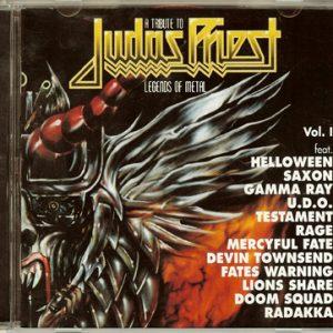 1996 – A Tribute to Judas Priest – Legends Of Metal Vol. I – Cd.
