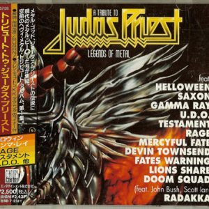 1996 – A Tribute to Judas Priest – Legends Of Metal Vol. I – Japan Cd.