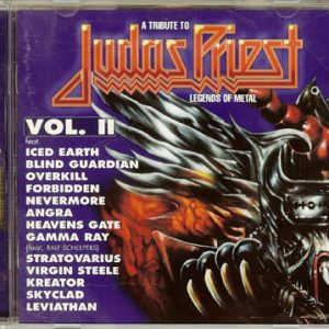 1996 – A Tribute to Judas Priest – Legends Of Metal Vol. II – Cd.