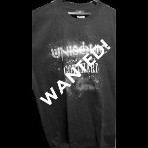 WANTED: Unisonic Japan Tour 2012 – T-shirt.