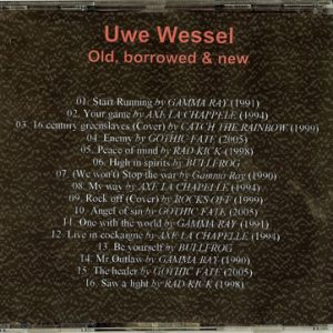Uwe Wessel – Old, Borrowed & New – Cdr.