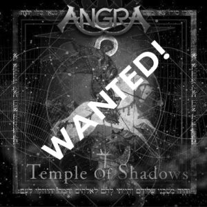 WANTED: 2004 – Angra – Temple Of Shadows – Cd.