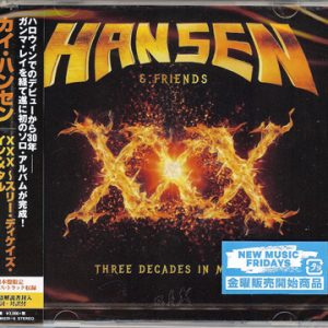 2016 – Hansen & Friends – XXX – 2Cd – Japan.