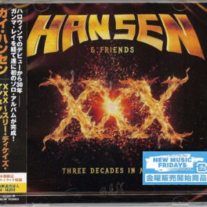 2016 – Hansen & Friends – XXX – Cd – Japan.