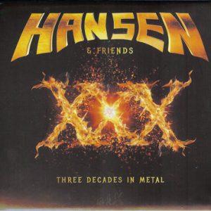 2016 – Hansen & Friends – XXX – Digipak – Russia Cd Editon.