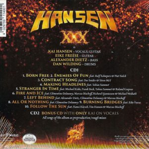 2016 – Hansen & Friends – XXX – 2Cd LTD. Edition.