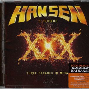 2016 – Hansen & Friends – XXX – Cd.