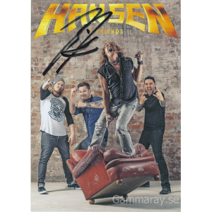 2016 – Hansen & Friends – Promo Card.