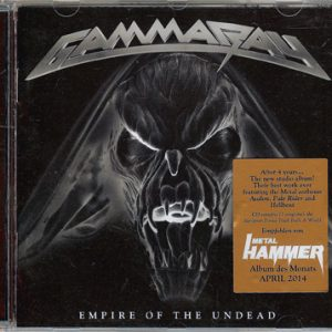 2014 – Empire Of The Undead – Cd – Israeli Promo.