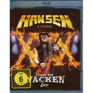 2017 – Hansen & Friends – Thank You Wacken Live – Blu-Ray & Live Cd.