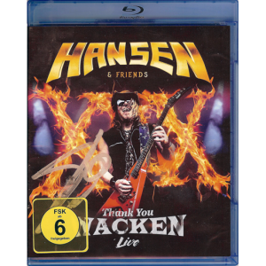 2017 – Hansen & Friends – Thank You Wacken Live – Blu-Ray & Live Cd.