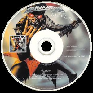 2017 – Alive 95 – (Anniversary Edition) – 2Cd – Promo.
