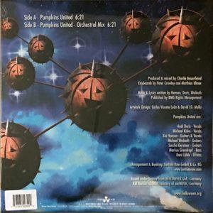 """2017 – Pumpkins United – 10"""" Mini-LP – Orange Vinyl – Limited."""