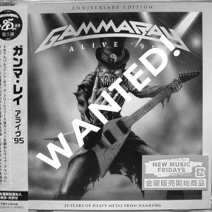 WANTED: 2017 – Alive 95 – (Anniversary Edition) – 2Cd – Japan.
