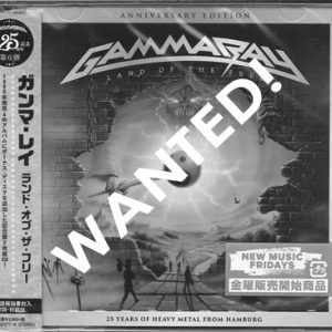 WANTED: 2017 – Land Of The Free – 2Cd – Japan.