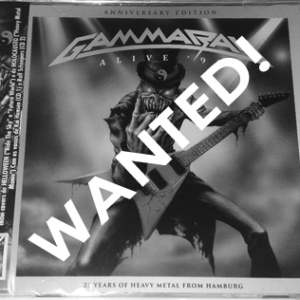 WANTED: 2017 – Alive 95 – (Anniversary Edition) – 2Cd – Brazil.