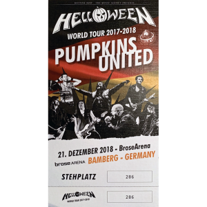 Ticket – Pumpkins United.