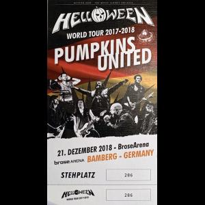 Ticket – Pumpkins United.