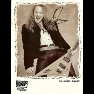 Kai Hansen – ESP Promo Photo.