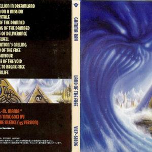 2002 – Land Of The Free (+3 Bonus Tracks) – Japan Cd.