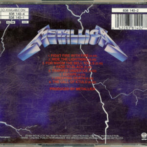1984 – Ride The Lightning – Cd