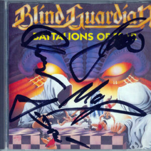 1988 – Battalions Of Fear – Cd – Signed