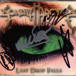 2001 – Last Drop Falls – 3 Track Cds – Signed By 4