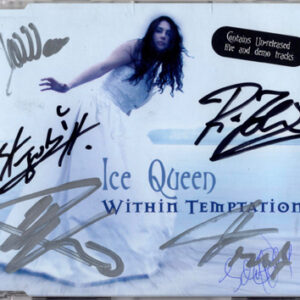 2001 – Ice Queen – Cds – 6 tracks – Signed