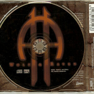 2001 – Wolf & Raven – 2 Track Cds – Signed By 4