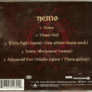 2004 – Nemo – 4 Track Cds