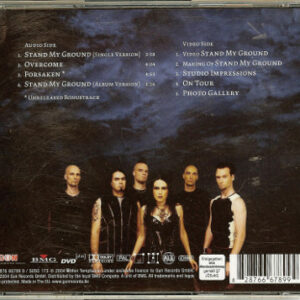 2004 – Stand My Ground – Cds – Special DVDplus Edition – Inlay Signed