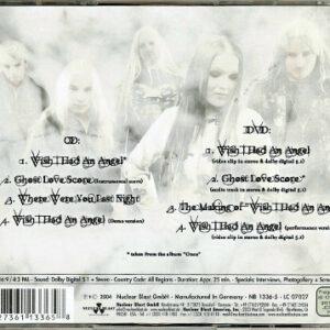2004 – Wish I Hade An Angel – Cds & Dvd