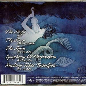2005 – The Siren – Cds