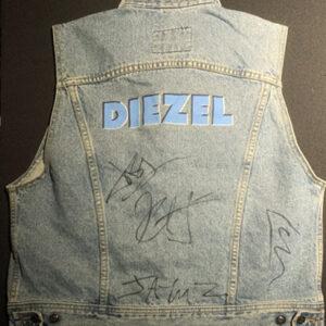 Denim Vest – Signed By Metallica 93