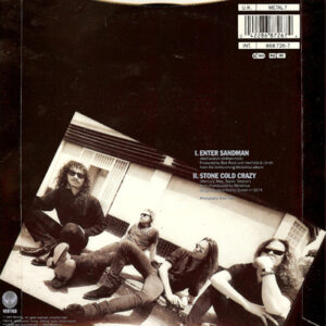 1991 – Enter Sandman – 7″ – Picture Disc.