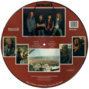 1986 – Master Of Puppets – Lp – Picture Disc.