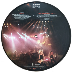 1989 – One – 10″ Picture Disc.